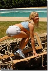 Kasia na ławeczce #2